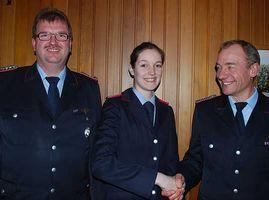 Neue Führung der Feuerwehr Ottingen