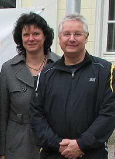 Anja Heldberg und Frank Uhrhammer von der Pro-IGS Visselhövede