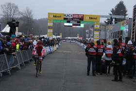 Cyclocross-Worldcup-Rennen in Zeven