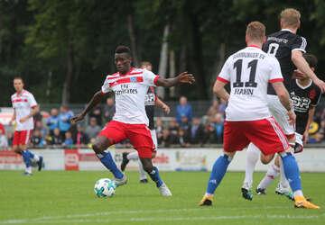 Freundschaftsspiel RSV gegen den HSV