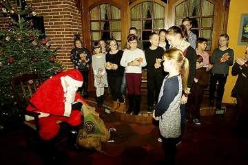Weihnachtsfeier der Trachtengruppe