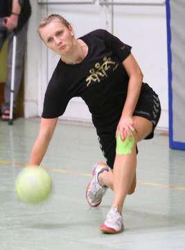 Prellball-Frauen schaffen Hattrick - Fotos von Antje Holsten-Körner
