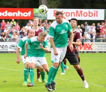 Rotenburger SV gegen Werder Bremen