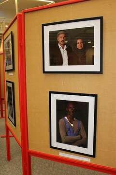 Ausstellung: Porträts von Flüchtlingen