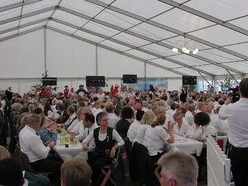 Kreisschützenfest Wittorf Kommersabend