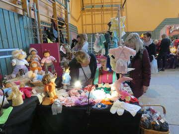 Novembermarkt in der Waldorfschule